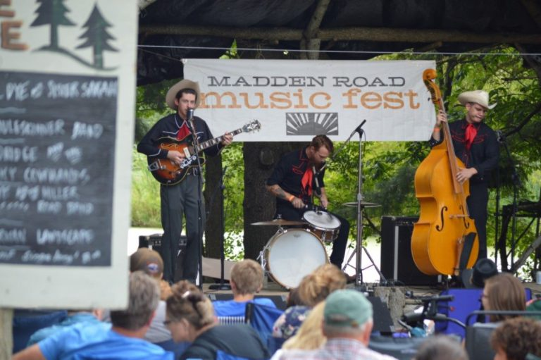 Spotlight on (the outskirts of) Madison County …