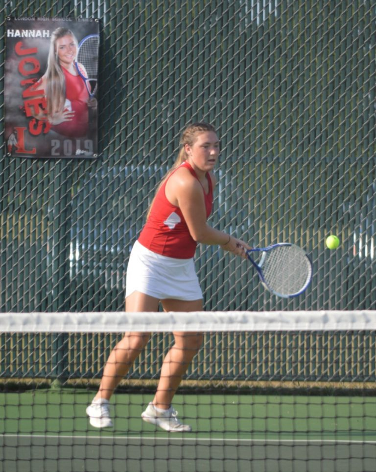 London serves up some tennis to Bellefontaine