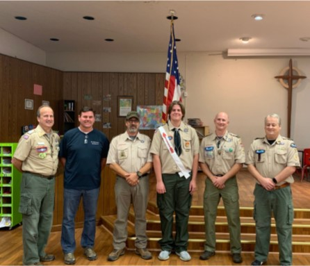 Cory Crum earns Eagle Scout rank