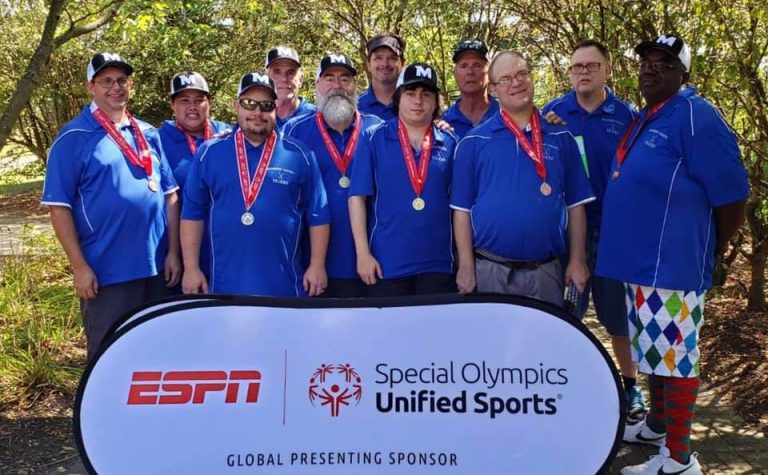 Son/Father duo lead local Special Olympics golfers at State