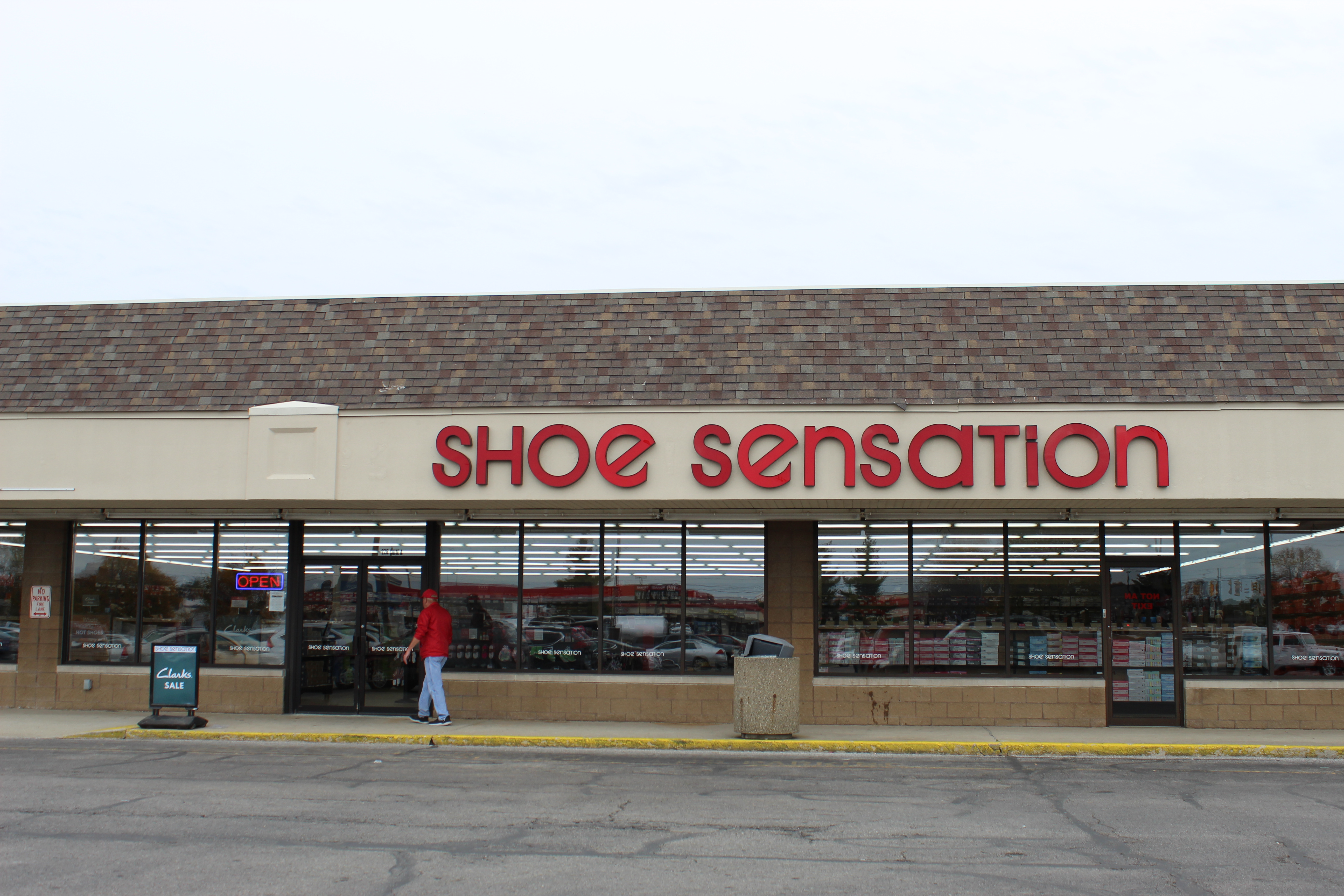 Shoe Sensation - Try Them on For Size