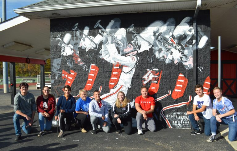 Alder honors Jones with mural
