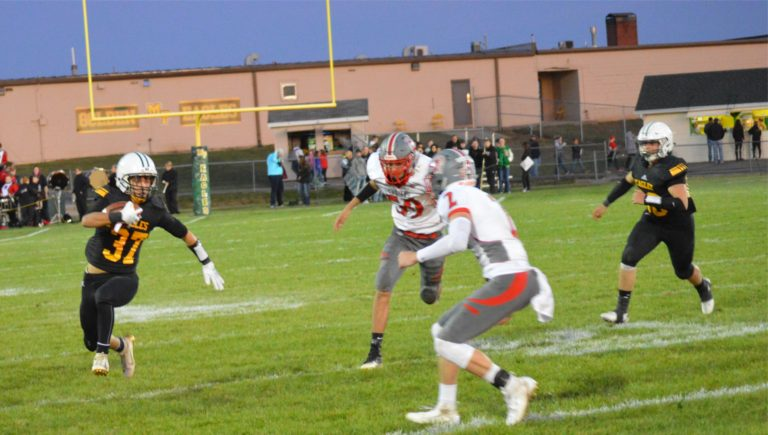 Golden Eagles Fall at Greeneview