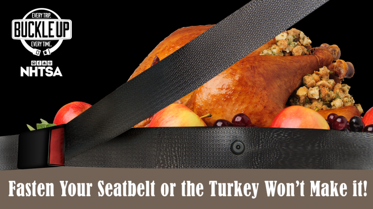 Buckle, Buckle this Holiday Traveling Season