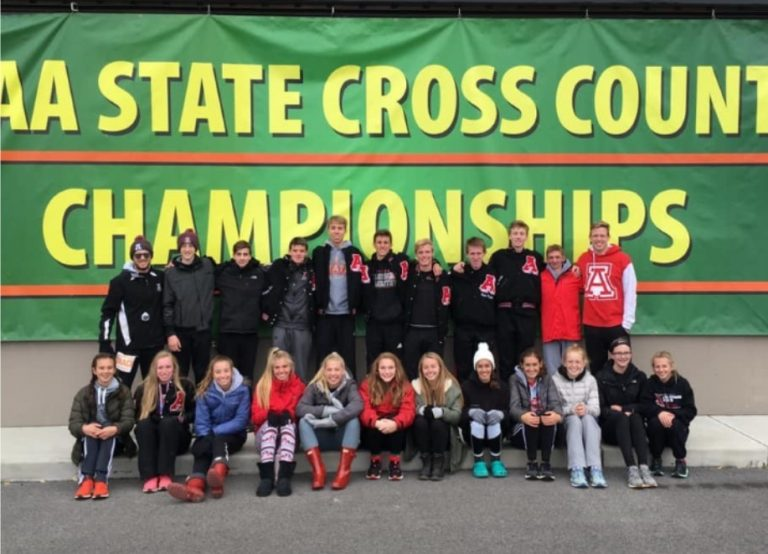 JA Team Competes at State CC Meet: Hicks and Malone Earn Honors