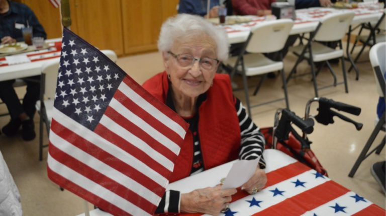 Senior Center honors Veterans