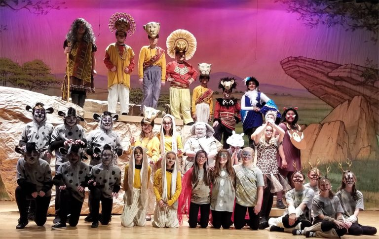 LMS Presents 'The Lion King Jr' Tonight Thru Sunday
