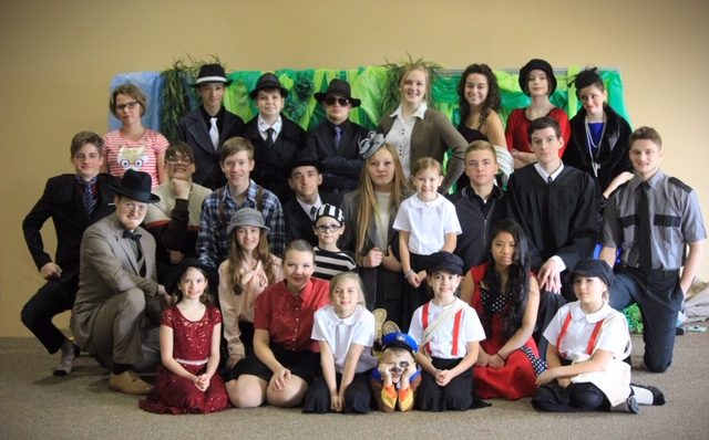 Local Homeschool Students Stage Drama for Community