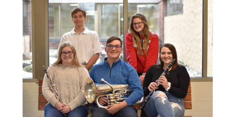 WJHS students excel with solos at OMEA