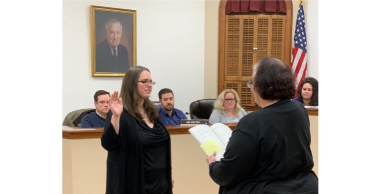 Mt. Sterling's Fritz sworn in
