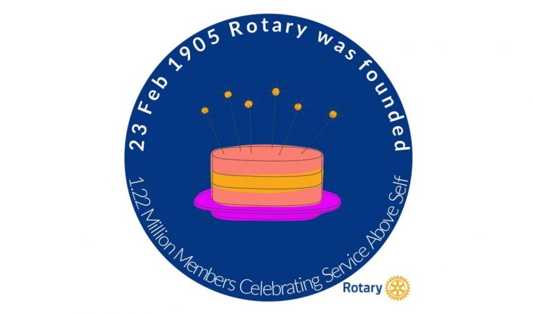 Rotary International celebrates February 23 with 115 candles