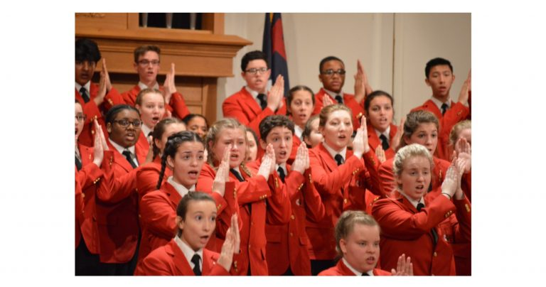 Young singers delight crowd
