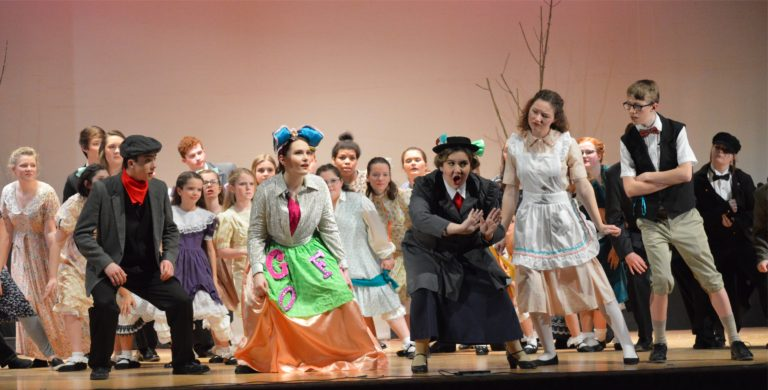 Practically-Perfect Poppins lands on LHS stage