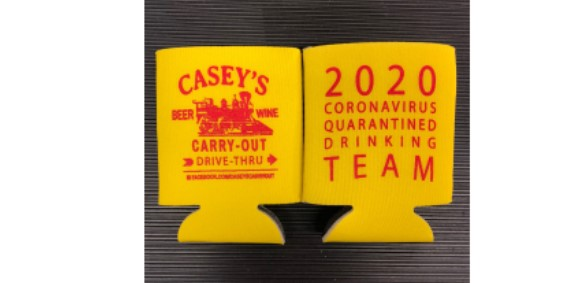 Casey's helps community one koozie at a time