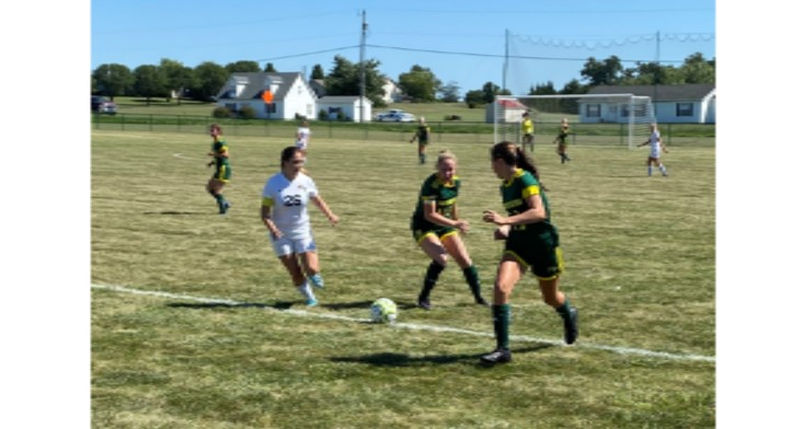 Lady Golden Eagles Soccer notches first win