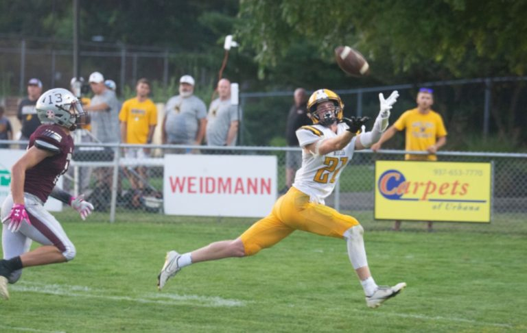 Roughriders make it stormy for Urbana following delay