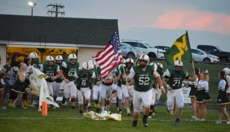 Greenon excels against Golden Eagles on both sides of the ball